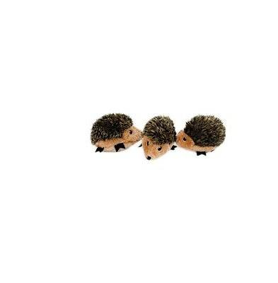 ZippyPaws Zippy Burrow Hedgehogs for Dog Toy Round squeaker