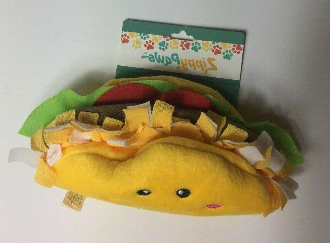 Squeaker Funny Stuffed Toy The Foodie