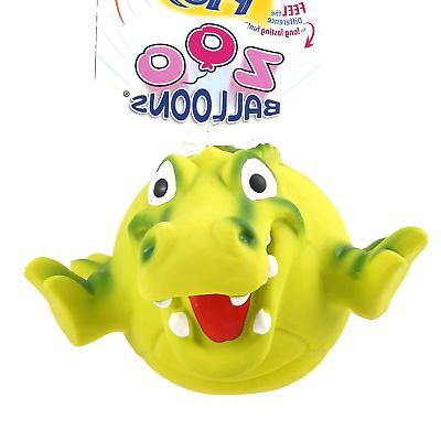 zoo balloons dog toy