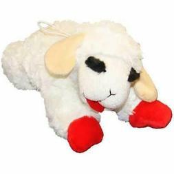 "Multi Pet Lamb Chop Dog Toy, 10"""