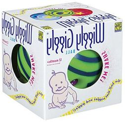 Large Wiggly Giggly Ball by Toysmith (assorted colors, sold