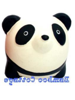 Latex Multipet Animal Ball Dog Toy Panda Bear 3 inch Origina