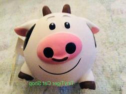 Multipet Latex Animal Ball Squeaker Dog Toy Cow
