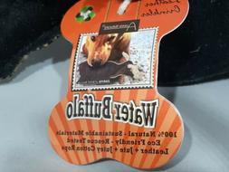 Aussie Naturals Leather Dog Fetch Toy  Natural Fibers Buffal