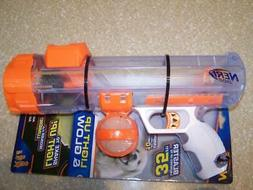 Nerf Dog Light Up & Glow Blaster Launcher Gun with Clip Ball