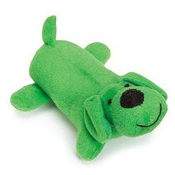 Zanies Lil' Yelper Dog Toys, Dark Green, 5""