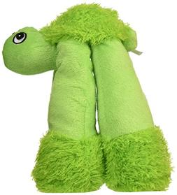 Patchwork Pet Long Legs Tortoise 10-Inch Squeak Toy for Dogs