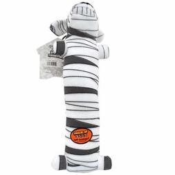 """Loofa Halloween Mummy Dog Toy Size: 18"""" H x 3"""" W x 3"""" D"""