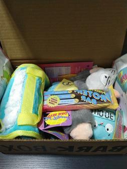 @@ Lot NWT Bark Box Medium Large Dog Toys & SEALED Soft Chew