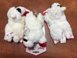 """Lot of 3 - LAMB CHOP Squeaky Dog Toys 6"""" for Small Dogs NEW"""