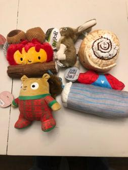 Lot Of 5 New Dog Toys Bark And Godog Branded