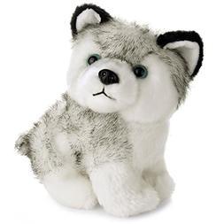 E-SCENERY 8inch Lovely Soft Plush Dog Siberian Husky, Soft S
