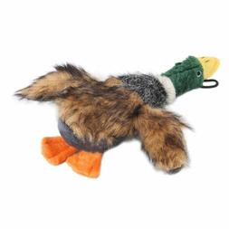 Mallard Squeaky Dog Toys for Aggressive Chewers Plush Stuffe