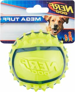Nerf Dog Mega Tuff TPR Spike Ball Dog Toy Medium