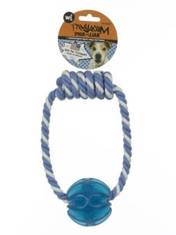 JW Pet Company Megalast Ball with Rope Dog Toy, Small