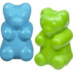 JW Pet Company Megalast Gummi Bear Dog Toy, Medium, Colors V