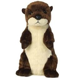 8 Inch Mini Flopsie Standing River Otter Plush Stuffed Anima