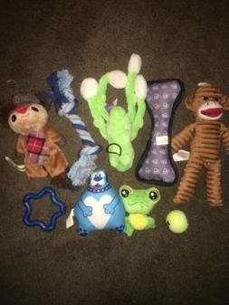 Mixed Lot Of 9 Brand New Dog Toys For Small Medium Dog Rope
