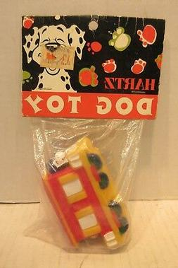 Hartz Mountain Corp. Vinyl Squeek Dog Toy Train