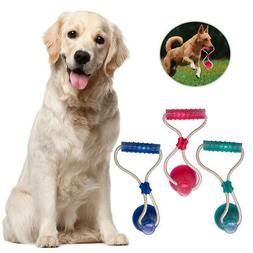 Multifunction Pet Molar Bite Toy Floor Suction Cup Dog Chew