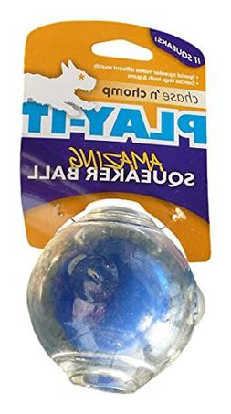 Chase N Chomp Amazing Squeaker Ball for Pets, 3.5-Inch
