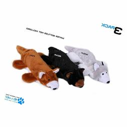 "Max and Neoâ""¢ Fox, Bear and Wolf Water Bottle Dog Toys -"