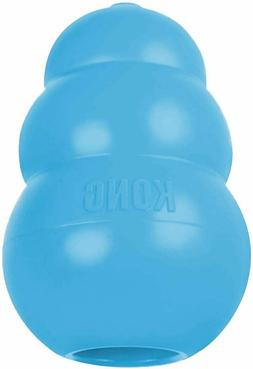 NEW KONG Blue Puppy Dog Pet Teething Aid Treat Chew Toy Asso
