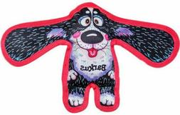 New Fuzzu crackly-crunch Loud squeaker Durable Dog Toys in S