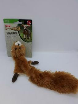 NEW Spot Skinneeez Mini Stuffing Free Dog Toy w/ 2 Squeakers