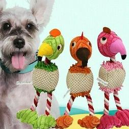 New Training Cute Pet Puppy Dog Cat Chew Toy Cotton Rope Bir