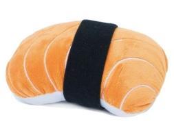 nomnomz plush squeaker dog toy
