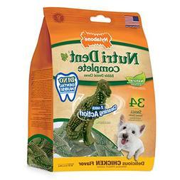 Nylabone Nutri Dent Complete Natural Dino Dental Dog Treats,