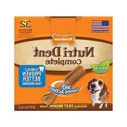 Nutri Dent Limited Ingredient Dental Dog Chews, Medium
