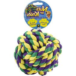 """Multipet Nuts for Knots Dog Toy, 5"""""""