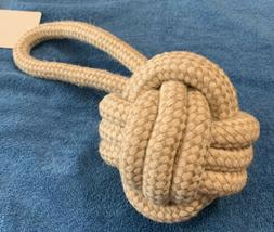 Multipet Nuts for Knots Heavy Duty Rope Dog Toy with Tug 4""