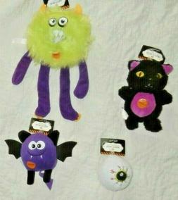 NWT THRILLS & CHILLS PETSMART HALLOWEEN DOG TOYS SQUEAKY FET