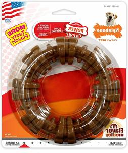 Nylabone DuraChew Textured Ring Flavor Medley Dog Toy, X-Lar