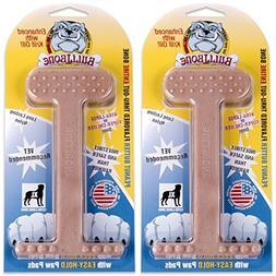 Nylon Dog Chew Toy- Bullibone Peanut Butter XL Nylon Bone -