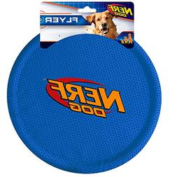 Nerf Dog Large Nylon Flying Disk, 2-Pack, Blue and Red
