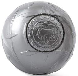 Planet Dog Orbee-Tuff  Large Dog Diamond Plate Ball-Steel  4