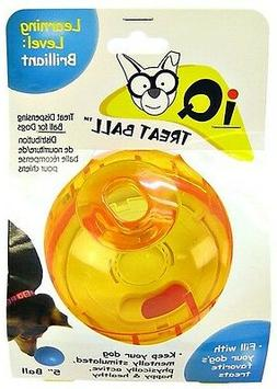 """Our Pets Smarter Dog TREAT DISPENSING BALL 3"""" or 4"""""""