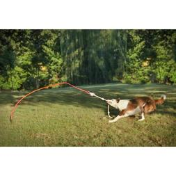 Tether Tug Outdoor Dog Toy Interactive Pull exerciser Small,