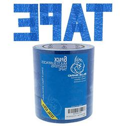 Blue Painters Tape 1 inch x 70 Yards - 6 Roll Value Pack | 1