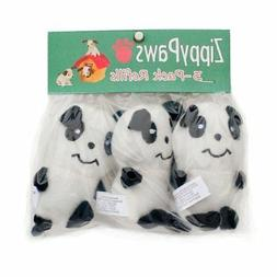 Panda Plush Toy Plush Squeaky Dog Toys 3 Pack Toys For Small
