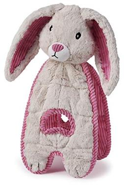 Charming Pet Cuddle Tugs Pet Squeak Toy, Bunny