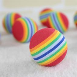 Pet Ball <font><b>Toy</b></font> Colorful EVA Rubber Safety
