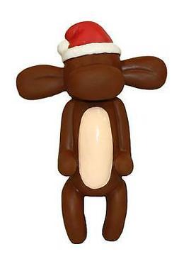 Charming Pet Products Balloon Xmas Monkey Small Latex Dog To