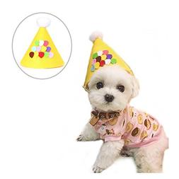 Stock Show Pet Birthday Cone Hat, Dogs Cats Christmas Holida