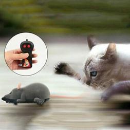 Pet Cat Dog Remote Control Toy Fake Mice Mouse Prank Rat Moc
