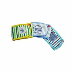 Alfie Pet by Petoga Couture - Gaki Belly Band 3-Piece Set -